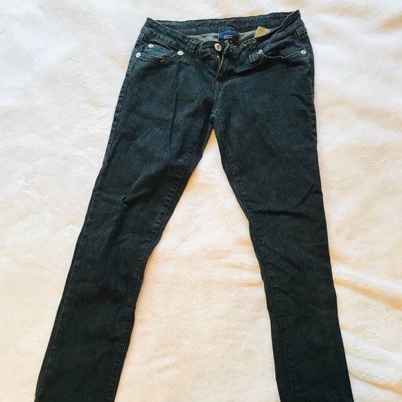 Wet Seal Denim - Long black sexy skinny jeans!